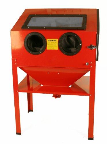 New-60-Gallon-Sandblast-Cabinet-Sand-Blaster-Air-Tool-w-40lb-bottom-feed-hopper
