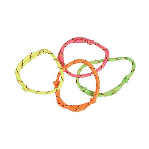 ~ 144 (1 Gross) ~ Neon Rope Friendship Bracelets ~ New