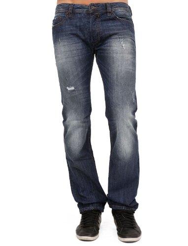 Diesel Safado 8b9 Between Straight And Slim Blue Man Jeans Men - W29l32