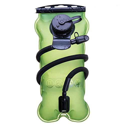JungleArrow 3Liter (100oz) Running Cycling Hiking BPA Free Hydration Pack Bladder, Leakproof Water Reservoir, FDA Approved. (3L) (Water Cooler Kuerig compare prices)