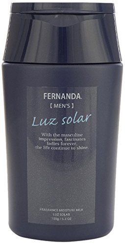 FERNANDA FRAGRANCE MOISTURE MILK FOR MEN LUZ SOLAR