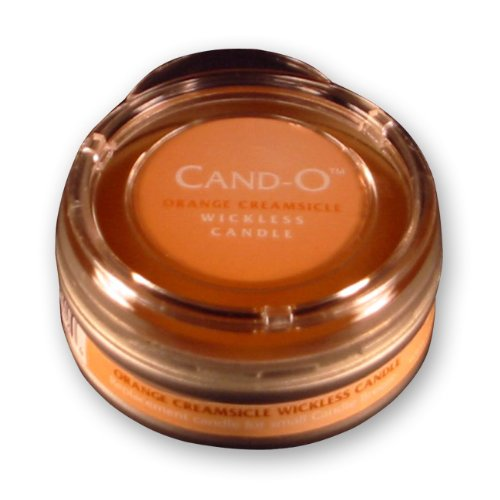 Candle Breeze Small Cand-o Orange Creamsicle Scented Candle