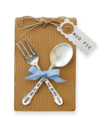 Classic Keepsakes Baby Feeding Set, Boy (Silver Spoon Baby compare prices)