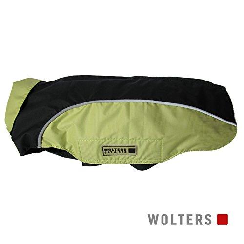 Wolters | Regenjacke Easy Rain in Schwarz/Limone | Rückenlänge 34 cm