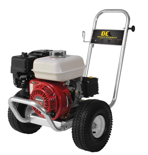 B E Pressure Pe-2565Hwaarsp Gas Powered Pressure Washer, Gx200, 2500 Psi, 3 Gpm front-492578