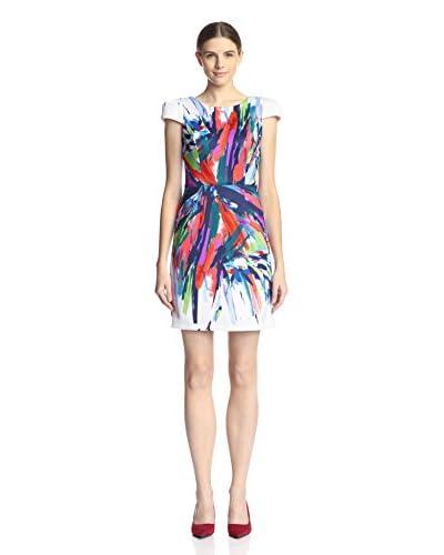 Maia Women's Abstract Paint Splatter Dress