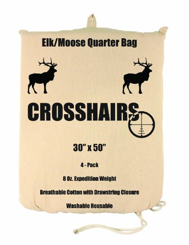 lewis-n-clark-crosshairs-30-x-50-inch-8-ounce-elk-moose-quarter-bag-pack-of-4