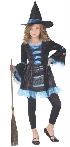 Costumes For All Occasions Fw121282Lg Victorian Witch Child 12-14