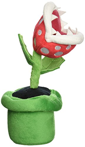 Super mario plush piranhas pipes and plants oh my for Plante mario