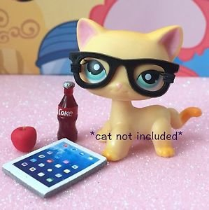 littlest-pet-shop-lps-4-pc-nerd-glasses-school-accessories-lotcat-not-included