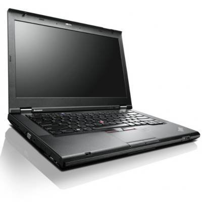 Lenovo ThinkPad T430 2344BZU 14 LED Notebook Intel Core i5-3320M 2.6GHz 4GB DDR3 500GB HDD Bluetooth Windows 7 Master Black