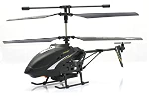 Black Egofly Hawkspy LT-712 RC Helicopter with Built-in Camera and a FREE Micro 1GB SD card!