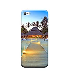 Ebby Premium Printed Back Case Cover With Full protection For Apple iPhone 5/5S (Designer Case)