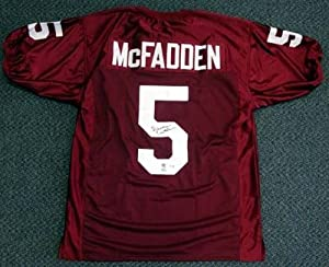 Darren McFadden Autographed Hand Signed University of Arkansas Jersey PSA DNA by Hall+of+Fame+Memorabilia