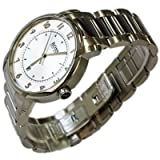 Hugo Boss Men's Classic Stainless Steel Watch; Analogue Metallic White Clear Dial with Date Display; 1512199