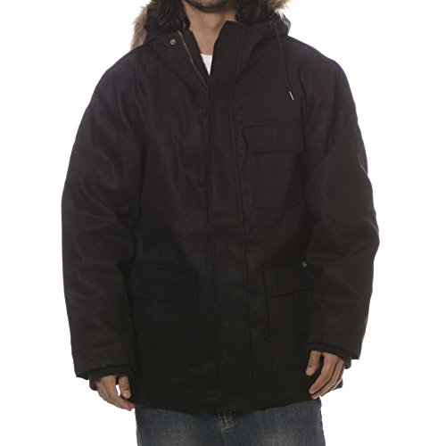Dickies Elmwood Parka Jacket Black Small
