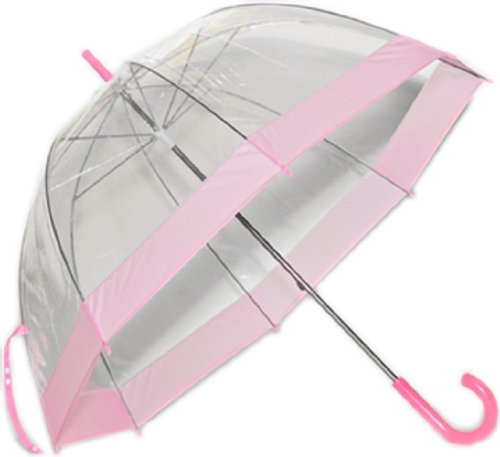 See Thru Bubble Umbrella  Choice of 10 Trim Colors