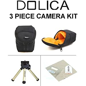 Dolica 3 Piece - Point N Shoot Digital Camera Kit