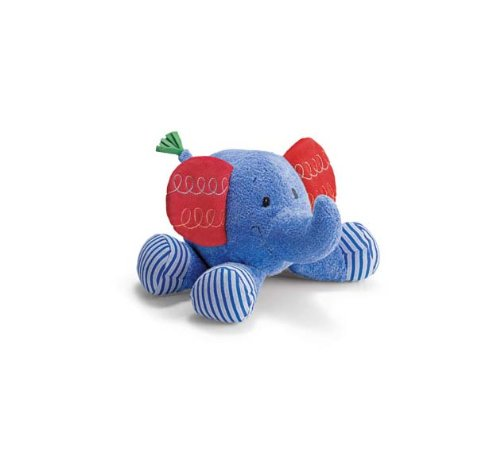 "Happy Moments Busybuds Elephant 7.5"" by Gund - 1"