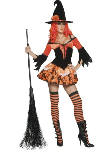 Tainted Garden Wicked Witch Costume Woman Fancy Dress