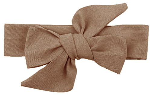 COCOTINA Vintage Baby Girl's Elastic Headbands Hair Bows (Coffee) (Vintage Head Wraps compare prices)
