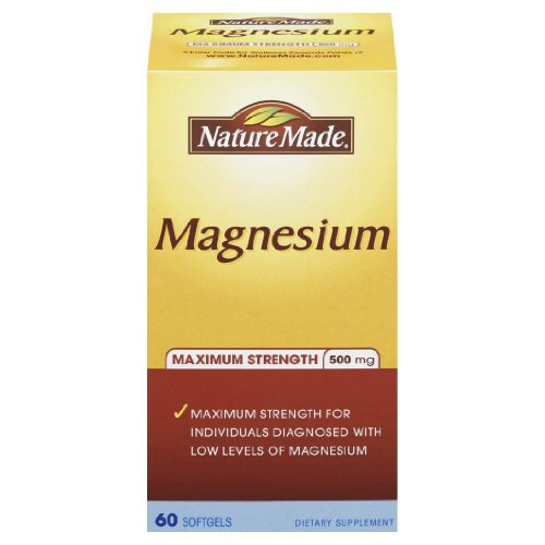 Nature Made Maximum Strength Magnesium 高浓度镁液体胶囊 500mg*60粒 $5.64