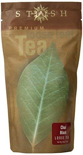 Stash Tea Chai Spice Black Loose Leaf Tea, 3.5 Ounce Pouches