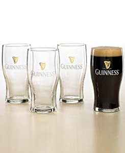 Guinness Pub Glasses, Set of 4