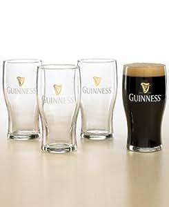 Guinness Pub Glasses, Set of 4