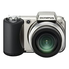 Olympus SP-600UZ 12MP Digital Camera with 15x Wide Angle Dual Image Stabilized Zoom and 2.7 inch LCD