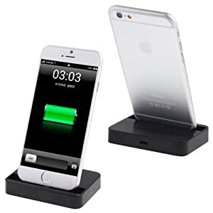 Dock Charger for iPhone 6 & 6 Plus(Black) by Online-Enterprises