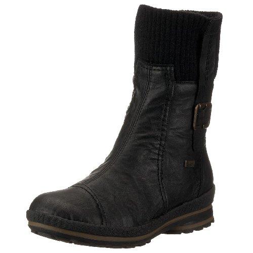 Rieker Boot Z2480-00 Black Black EU40
