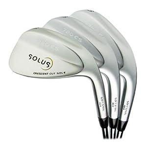 Solus Golf- Tour 720 CS 3-Wedge Set 52 56 60 by Solus Golf