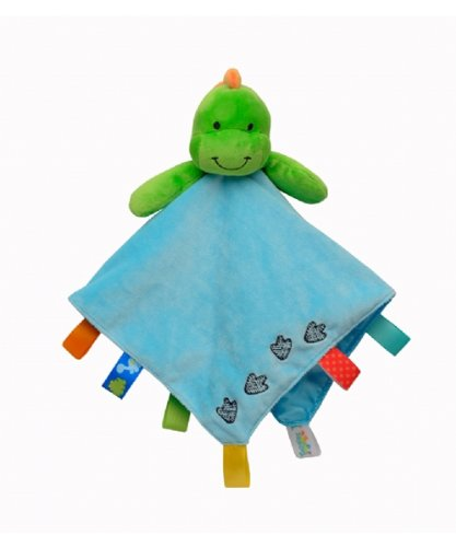 Taggies Baby Boy Dino Blanket by Taggies - 1