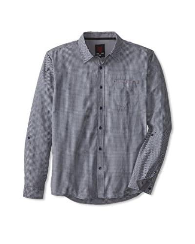 ONE90ONE Men's Alvan Single Pocket Solid Shirt