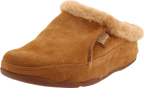 FitFlop Lounge Deluxe Slipper Chestnut