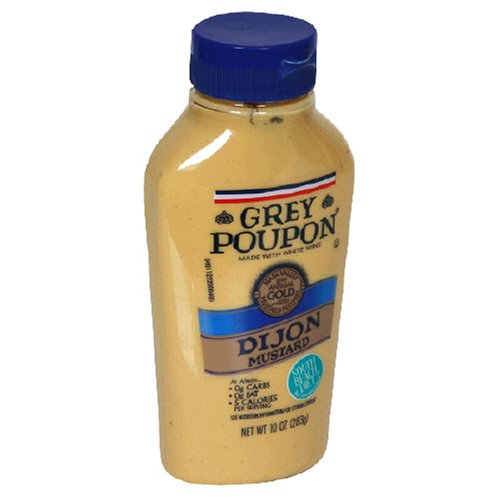 Grey Poupon Dijon Mustard, 10-Ounce Squeeze Bottles (Pack of 12)