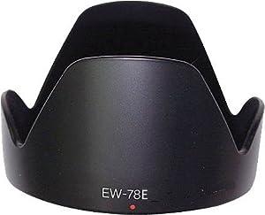 EW-78E Pare-soleil d'objectif pour Canon EF-S 15-85mm Lens,Eos 60D,50D,40D,7D,5D,1Ds,600D,550D,500D,450D.