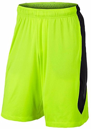 Nike Men's Dri-Fit Hyperspeed Knit Training Shorts-Volt/Black-XL