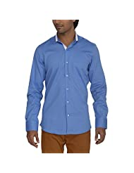 Urban Paris Men's Giza Cotton Regular Fit Shirt - B00QAYK28U