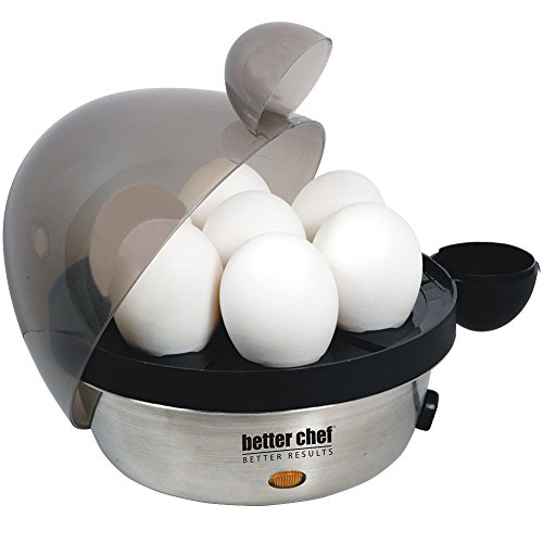 Better Chef Stainless Steel 7 Egg Cooker - Make Soft Medium Or Hard Boils (Potato Heater compare prices)
