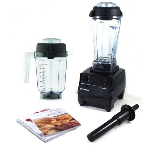 Vitamix TurboBlend 2 Speed Blender With Wet Container, Dry Grains Container, and 2 Cookbooks (Vitamix Blender 1782 compare prices)