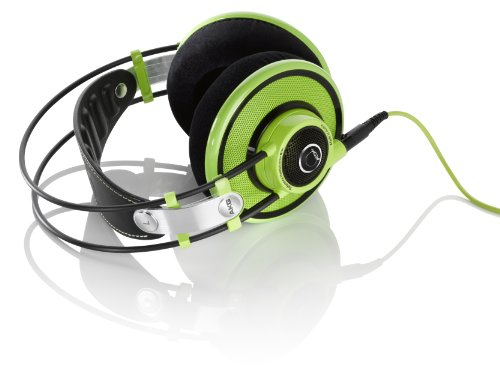 New AKG Q 701 Quincy Jones Signature Reference-Class Premium Headphones, Lime