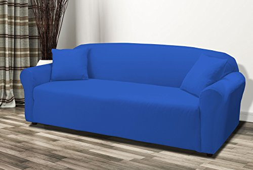 linen-store-stretch-jersey-slipcover-soft-form-fitting-solid-color-sofa-cobalt-blue