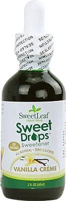 Sweet Drops Liquid Stevia, Vanilla Creme, 2 Ounce