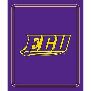 East Carolina Pirates NCAA Classic Fleece Blanket by Logo Chair