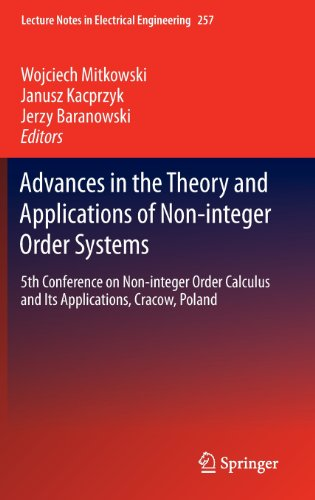 Advances in the Theory and Applications of Non-integer Order Systems: 5th Conference on Non-integer Order Calculus and I