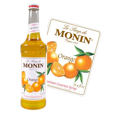 Monin Premium Orange Syrup 700 ml