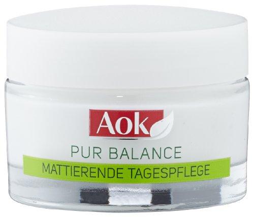 Aok Gesichtspflege Pur Balance Mattierende Tagespflege, 3er Pack (3 x 50 ml)