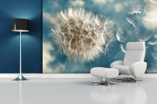fototapete dandelion seed in verschiedenen gr en als papiertapete oder vliestapete w hlbar. Black Bedroom Furniture Sets. Home Design Ideas